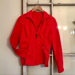 Zella Fitted Zip Up Athletic Jacket
